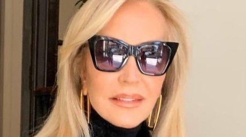 Carmen Lomana, criticada por considerarse 'ecológica' llevando un abrigo de piel: 'Los sintéticos contaminan'