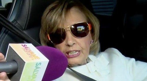 María Teresa Campos, divertida en su conexión con 'Sálvame':