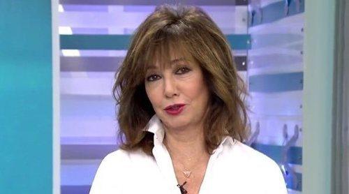Ana Rosa Quintana celebra los 15 años de 'El programa de Ana Rosa' con la misma ropa que en su estreno