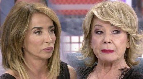 María Patiño y Mila Ximénez aclaran sus diferencias en 'Sábado Deluxe':