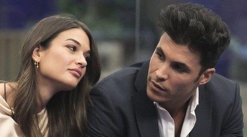 El tenso reencuentro de Kiko Jiménez y Estela Grande en el 'El tiempo del descuento': 'Eres mi gran decepción'