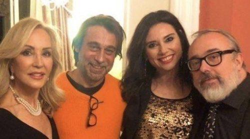 Carmen Lomana reúne a Rocío Monasterio y Álex de la Iglesia en su tradicional Roscón de Reyes 2020