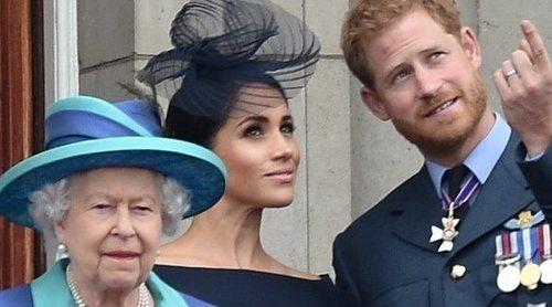 La Reina Isabel apoya al Príncipe Harry y Meghan Markle en un comunicado: 'Respetamos su deseo'
