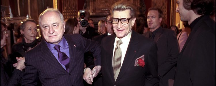 Pierre Bergé con Yves Saint Laurent