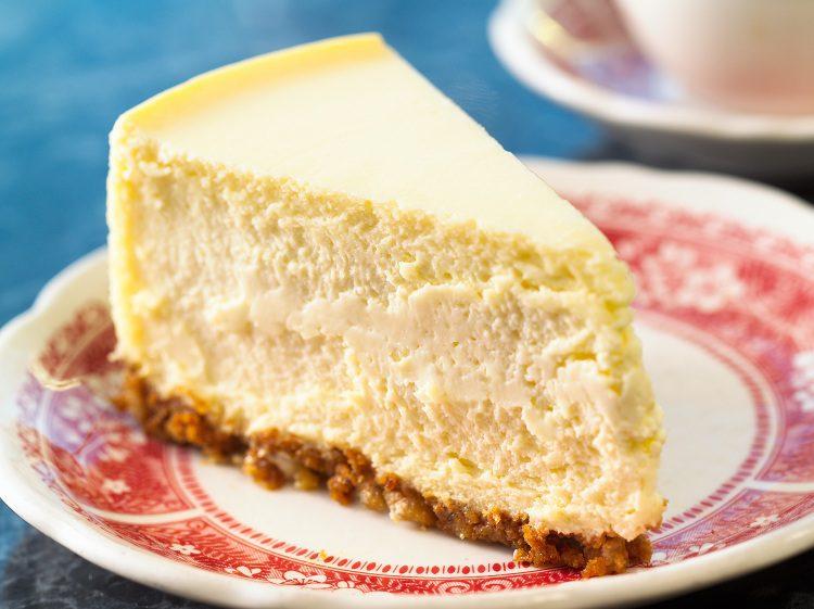 La tarta de queso es una de las preferidas de los amantes del dulce