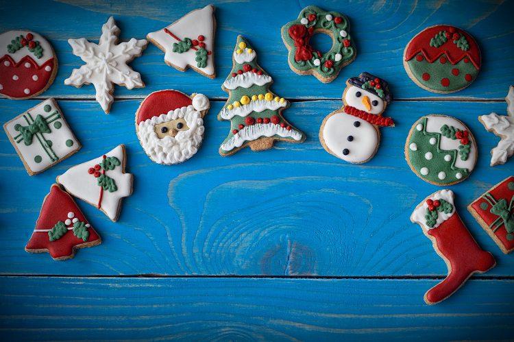 Las galletas estarán listas cuando veamos que con el calor van adquiriendo una tonalidad dorada