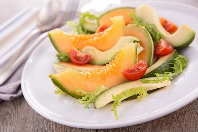 Hay una ensalada al estilo marroquí que incluye el melón como el ingrediente principal del plato