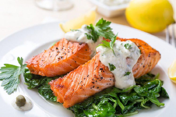 espinacas al horno para dieta