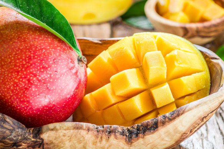 Granizado de mango y fresa