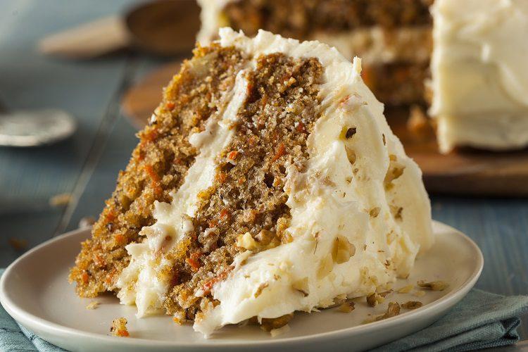 La tarta de zanahoria es una de las más populares en todo el mundo