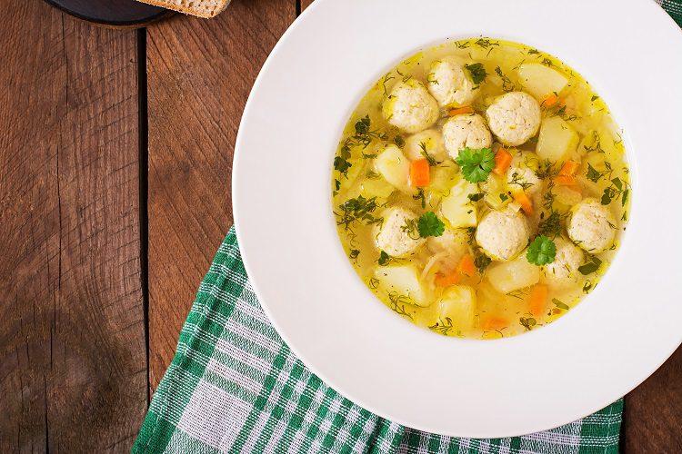Es una sopa perfecta para tomar en los meses de frío