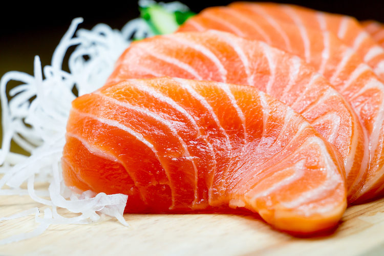 Makis de salmón y aguacate
