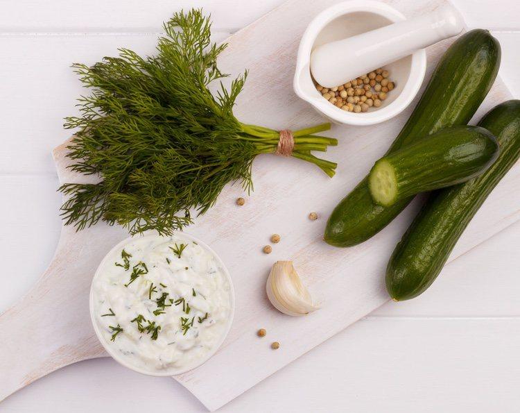 Se trata de una salsa muy típica en la gastronomía griega