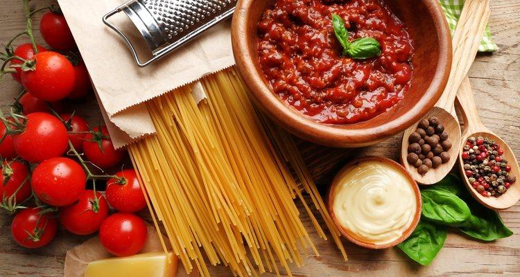 El espesor de la salsa boloñesa dependerá del tiempo que se mantenga al fuego