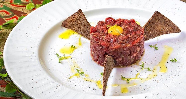 Este sería el resultado de nuestro tartar de atún rojo, que es muy rápido y sencillo de preparar