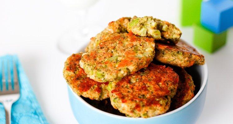 Los nuggets vegetarianos son una gran opción para que los más peuqueños coman verduras