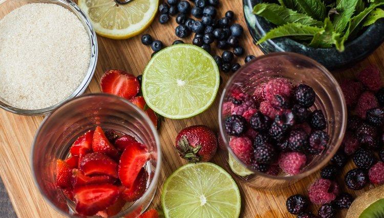 Las frutas se han convertido en los últimos años en el gran sustituto para los mojitos tradicionales
