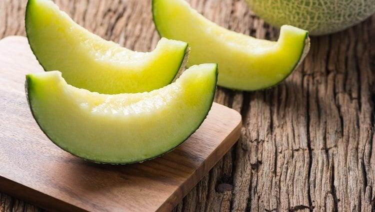 El melón es una fruta refrescante y ligera