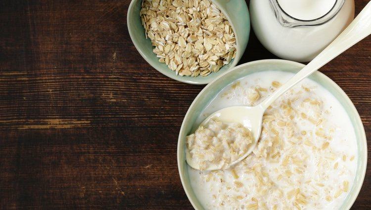 El porrisge se puede preparar tanto con leche como con agua