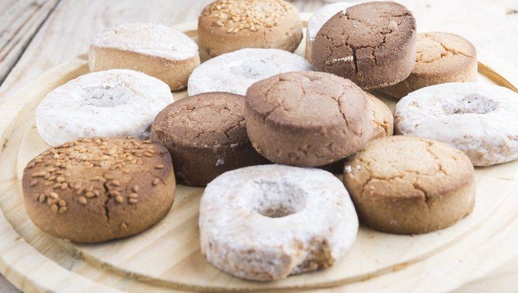 Los polvorones son unos dulces muy típicos en Navidad