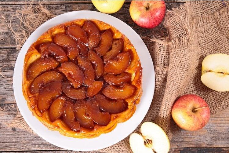 La manzana es el ingrediente estrella de esta tarta