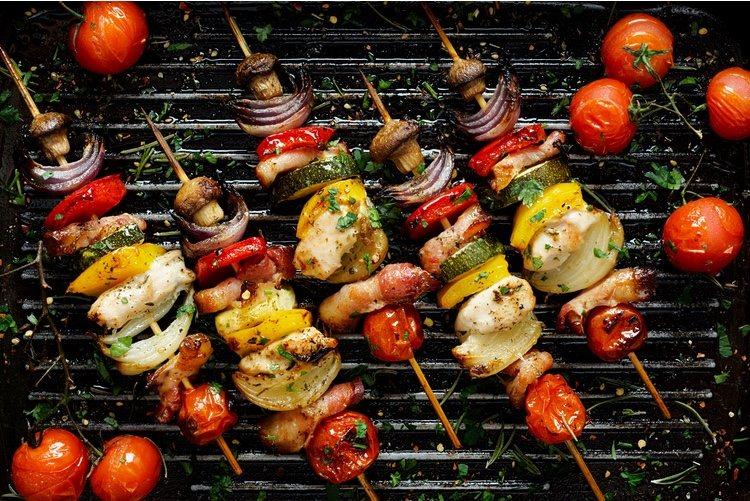 Una forma de disfrutar también de comida al estilo parrilla sin necesidad de tomar carne