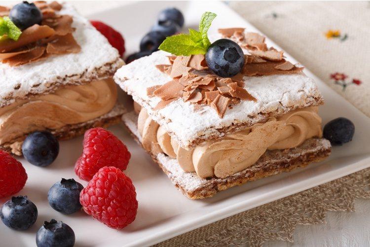 Este dulce es muy popular en la gastronomía francesa