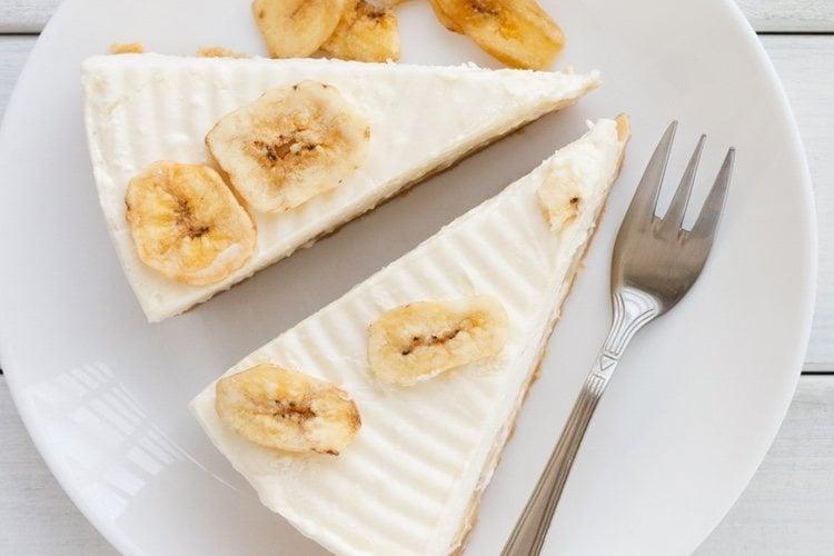 Prueba esta deliciosa y nutritiva tarta de plátano