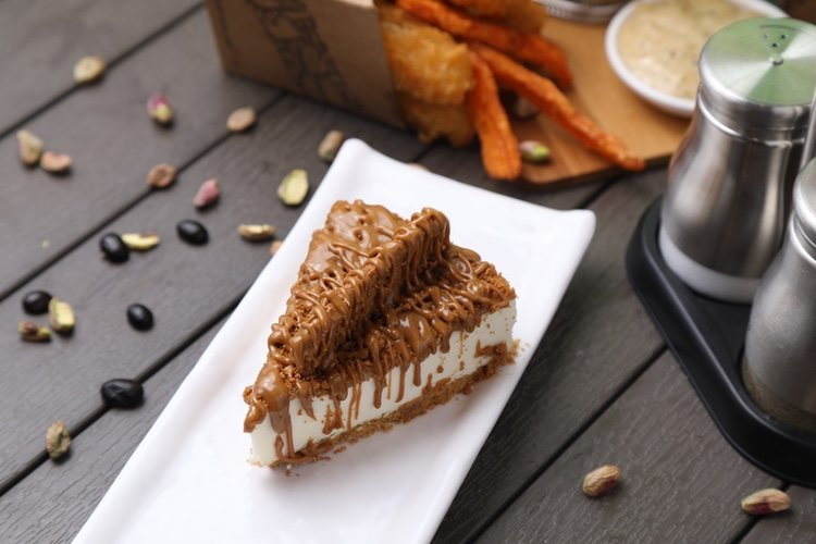 Sácala de la nevera y disfruta de esta riquísima tarta