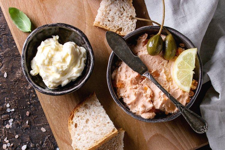 El queso de untar puede dar diferentes sabores según la clase