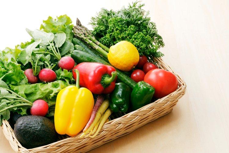 Las verduras son muy sanas y bajas en grasas