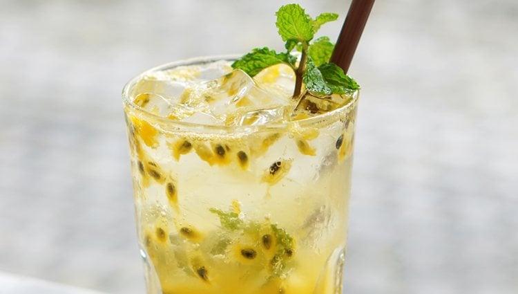 El cóctel de pasión latina es una mezcla perfecta entre amargo y dulce