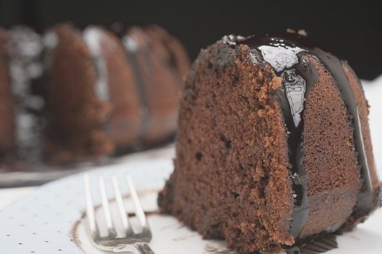 Puedes añadir el topping que quieras a tu bundt cake