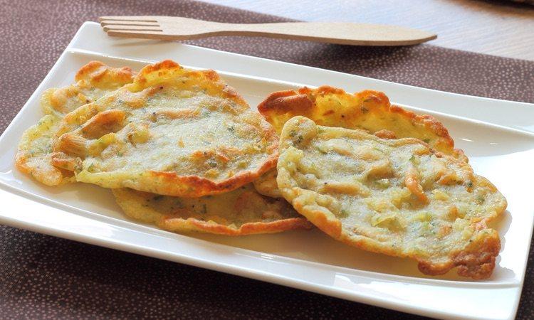 Las tortillas de camarones son un aperitivo ideal paar comidas y cenas