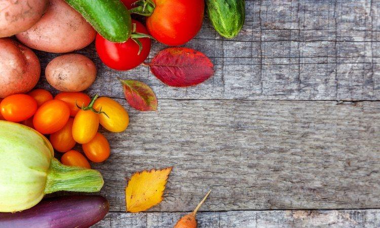 Procura que las verduras sean frescas para un sabor más intenso