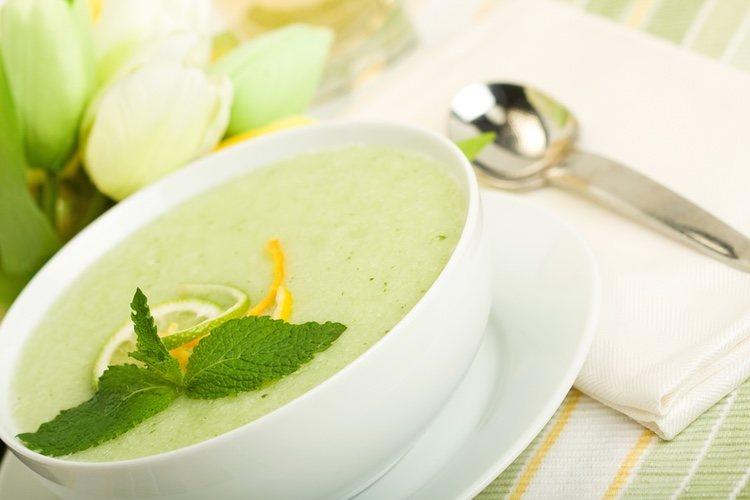 Puede que te recuerde a la sopa de pepino