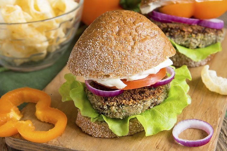 Las hamburguesas de lentejas son realmente saludables