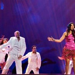 Lucía Pérez canta 'Que me quiten lo bailao' en Eurovisión 2011