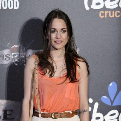 Silvia Alonso en la premiere en Madrid de 'Piratas del Caribe'