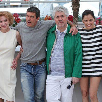 El reparto de 'La piel que habito' en Cannes