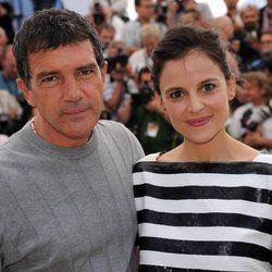 Antonio Banderas y Elena Anaya en Cannes