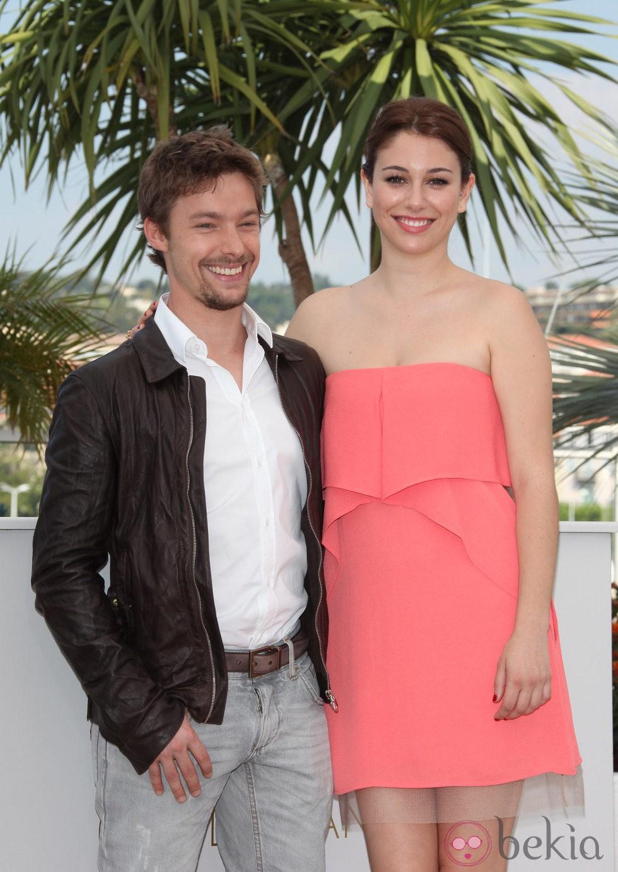 Jan Cornet y Blanca Suárez en el Festival de Cannes
