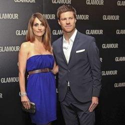 Xabi Alonso y Nagore Aranburu en los Premios Glamour 2011