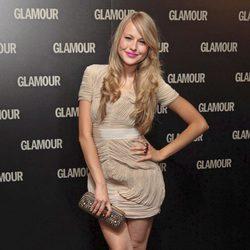 Esmeralda Moya en los Premios Glamour 2011