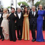 El jurado del Festival de Cannes en la ceremonia de clausura
