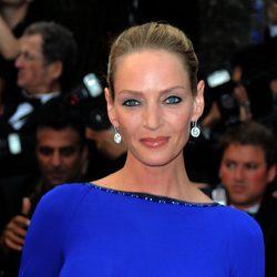 Uma Thurman en la clausura del Festival de Cannes