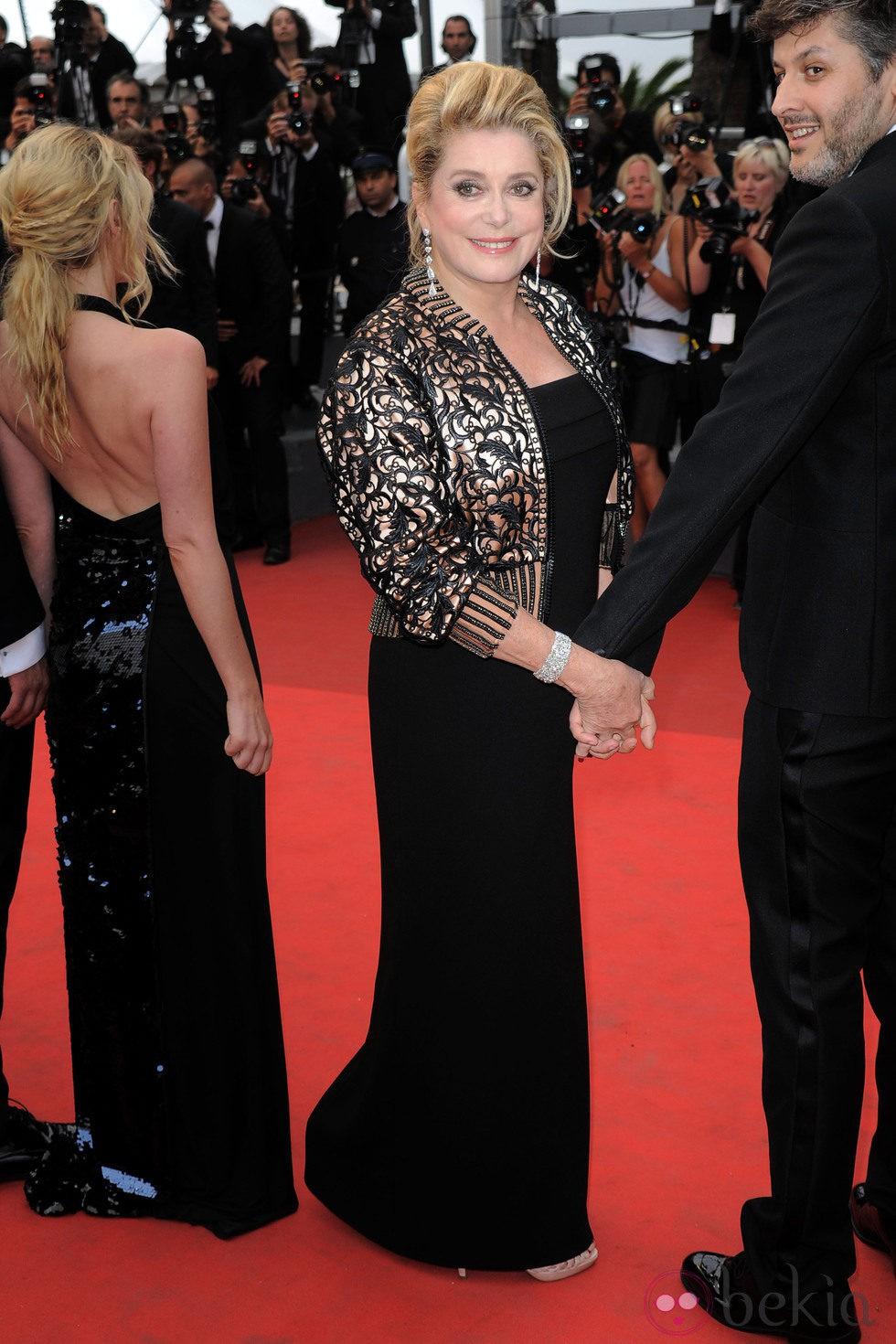 Catherine Deneuve en la ceremonia de clausura de Cannes