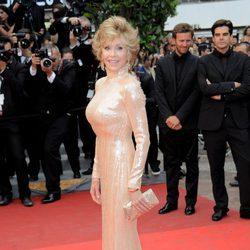 Jane Fonda en la clausura del Festival de Cannes