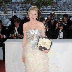 Kirsten Dunst en la ceremonia de clausura de Cannes