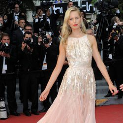 Karolina Kurkova en la ceremonia de clausura de Cannes